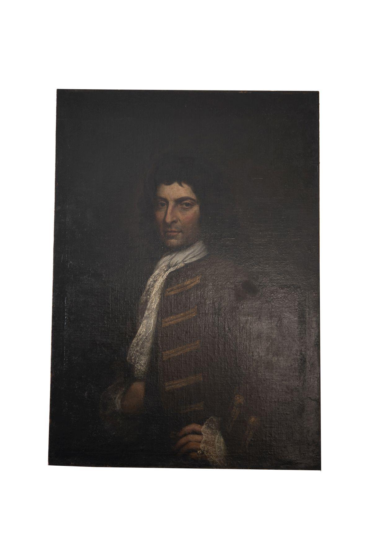 #109 Portrait of a Nobleman with Lace Jabot, Approx. 1700/75 | Bildnis eines adeligen Herrn mit Spitzenjabot, ca. 1700/75 Image