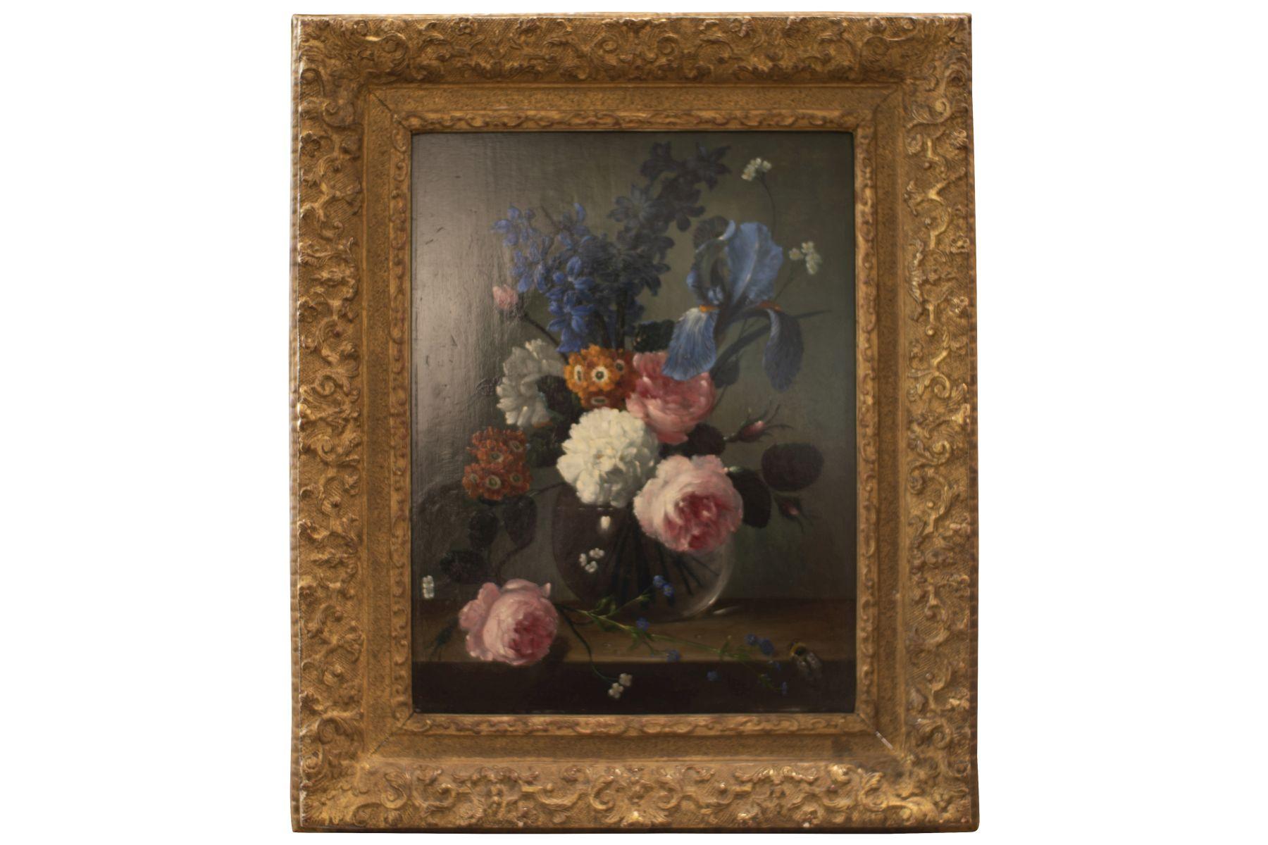 #127 Artist of the 20th C., Floral Still Life   Künstler des 20. Jh.s, Blumenstillleben Image