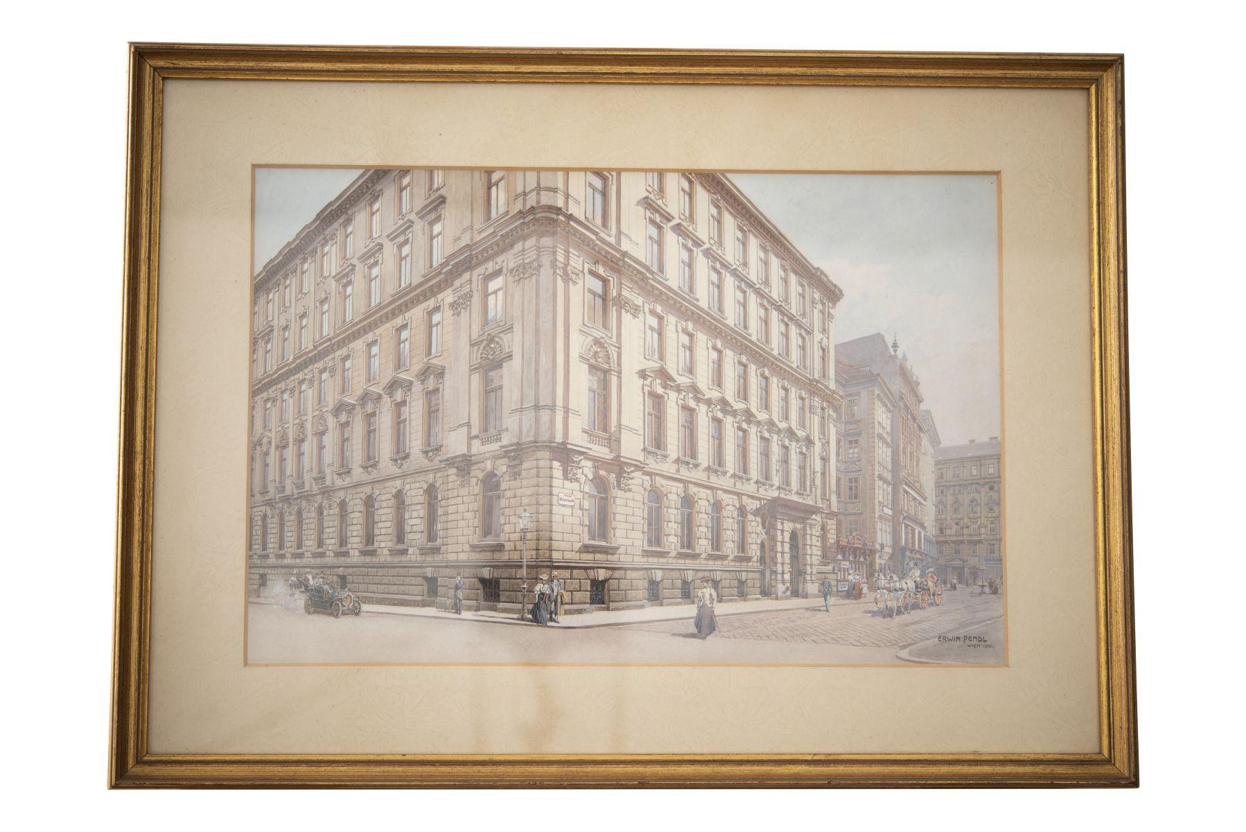 #128 Erwin Pendl (1875–1945), Wildpretmarkt, Vienna, Around 1910   Erwin Pendl (1875–1945), Wildpretmarkt, Wien, um 1910 Image
