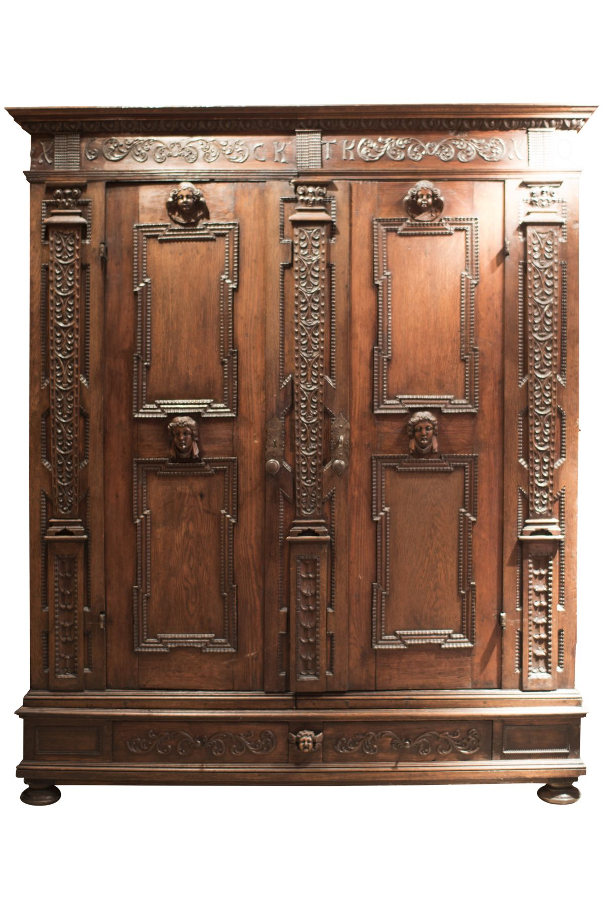 #14 Large Living Room Cabinet, Historicism   Großer Wohnzimmerschrank, Historismus Image