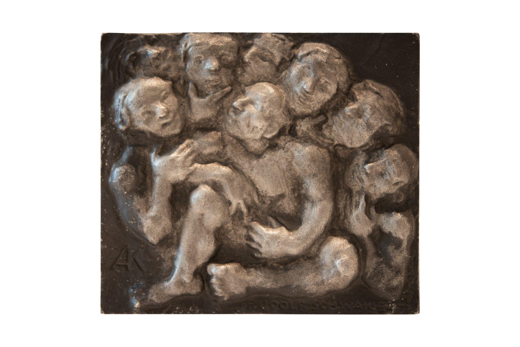 #143 Rudolf Schwaiger (1924–1979), The Conversation | Rudolf Schwaiger (1924–1979), Das Gespräch Image