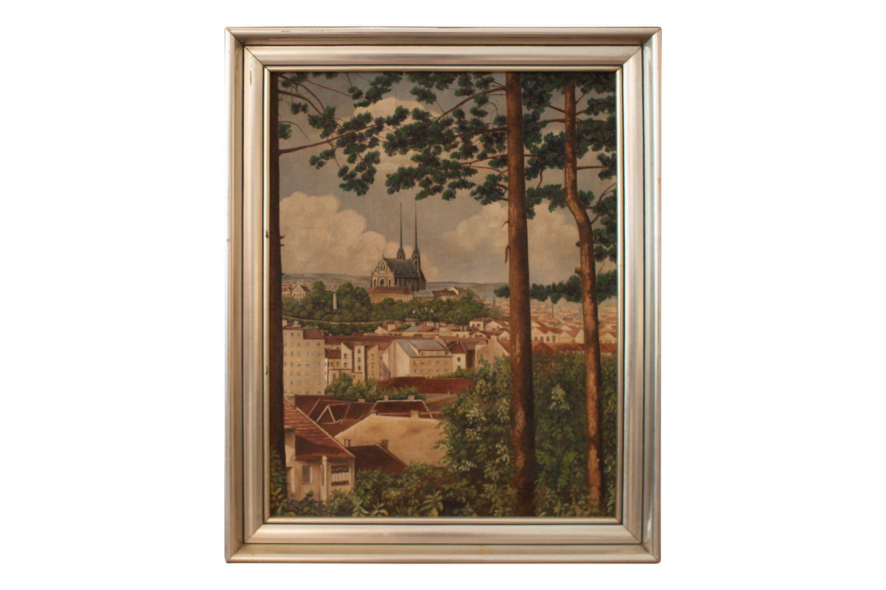 #146 View of Brno, Around 1920   Ansicht auf Brünn, um 1920 Image