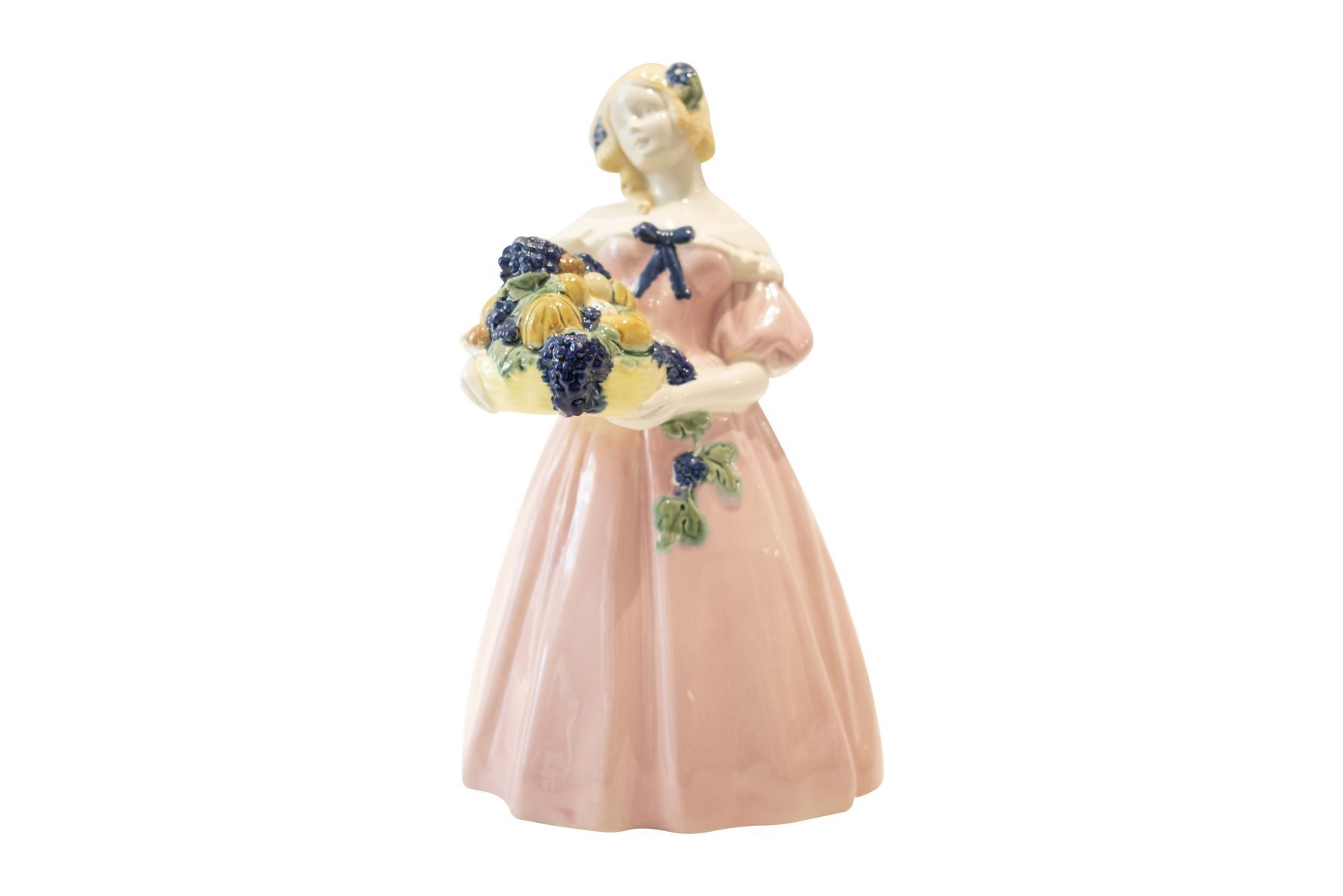 #179 Porcelain Figure, Crinoline Autmn, Around 1910 | Porzellanfigur, Krinoline Herbst, um 1910 Image