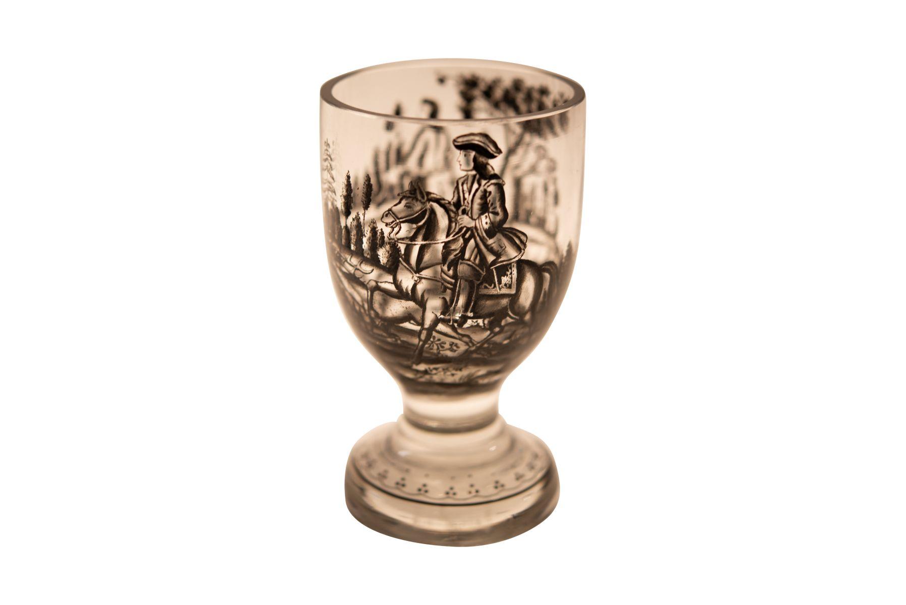 #182 Drinking Goblet Made of Glass, Bohemia, Approx. 1750   Trinkpokal aus Glas, Böhmen, ca. 1750 Image