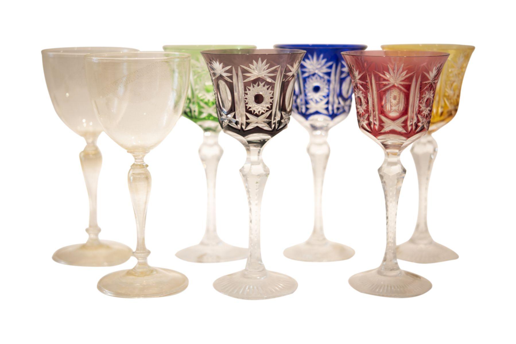 #183 7 Roman Glasses   7 Römer Gläser Image