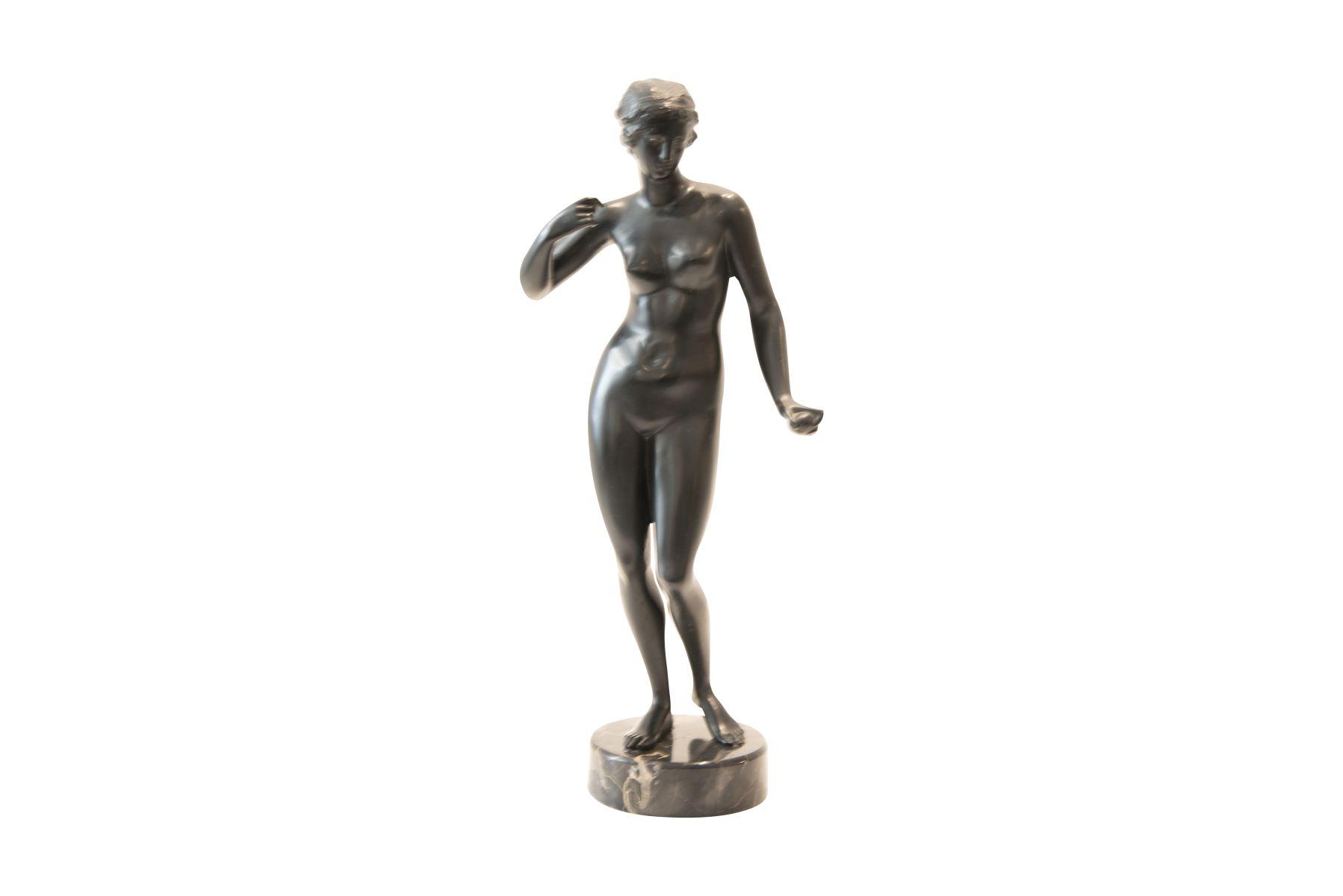#206 Female Nude on Marble Base | Weiblicher Akt auf Marmorsockel Image