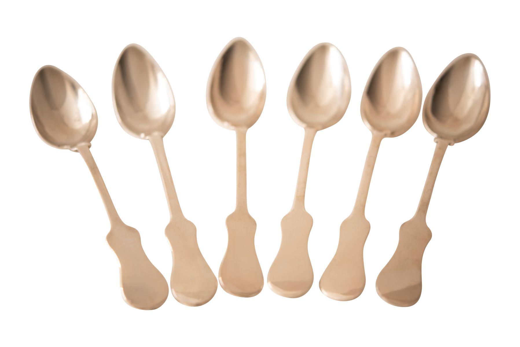 #228 6 Table Spoons   6 Tafellöffel Image