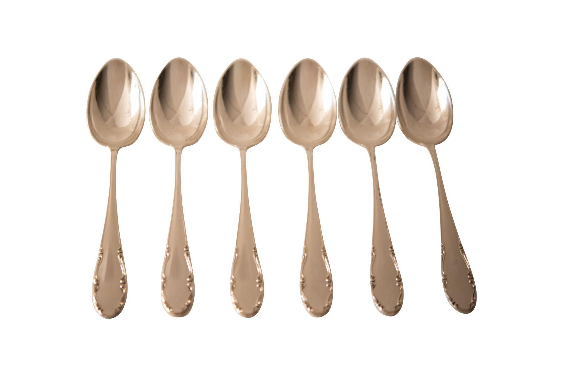 #229 6 Table Spoons | 6 Tafellöffel Image