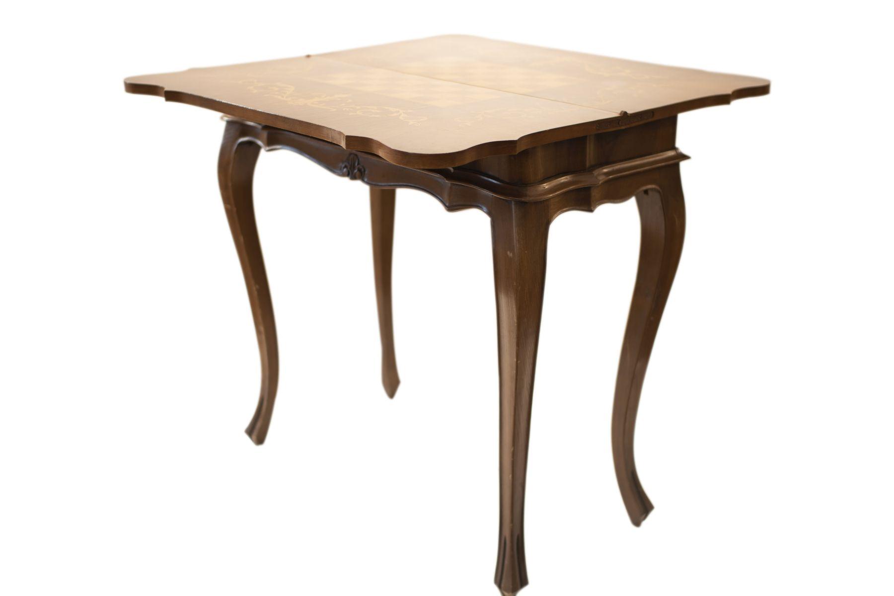 #42 Small, Square Game Table | Kleiner, viereckiger Spieltisch Image