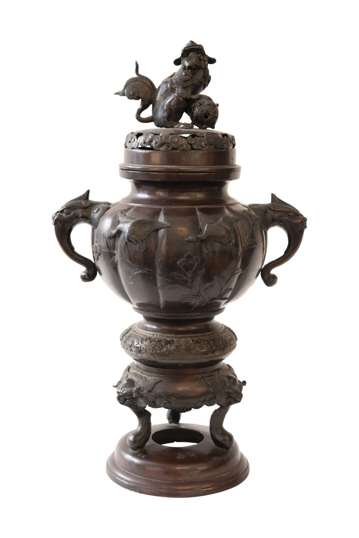 #60 Incense Burner China, 20th C. | Weihrauchgefäß China, 20. Jh. Image