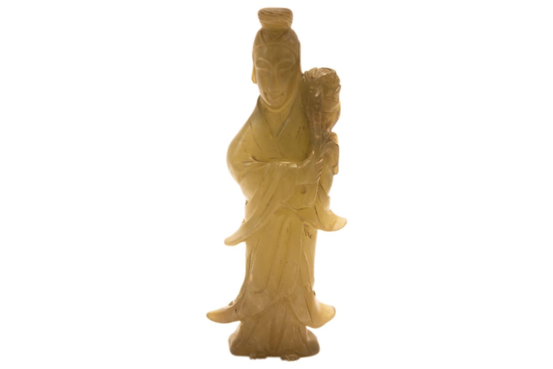 #68 Asian Goddess Made of Jade   Asiatische Göttin aus Jade Image