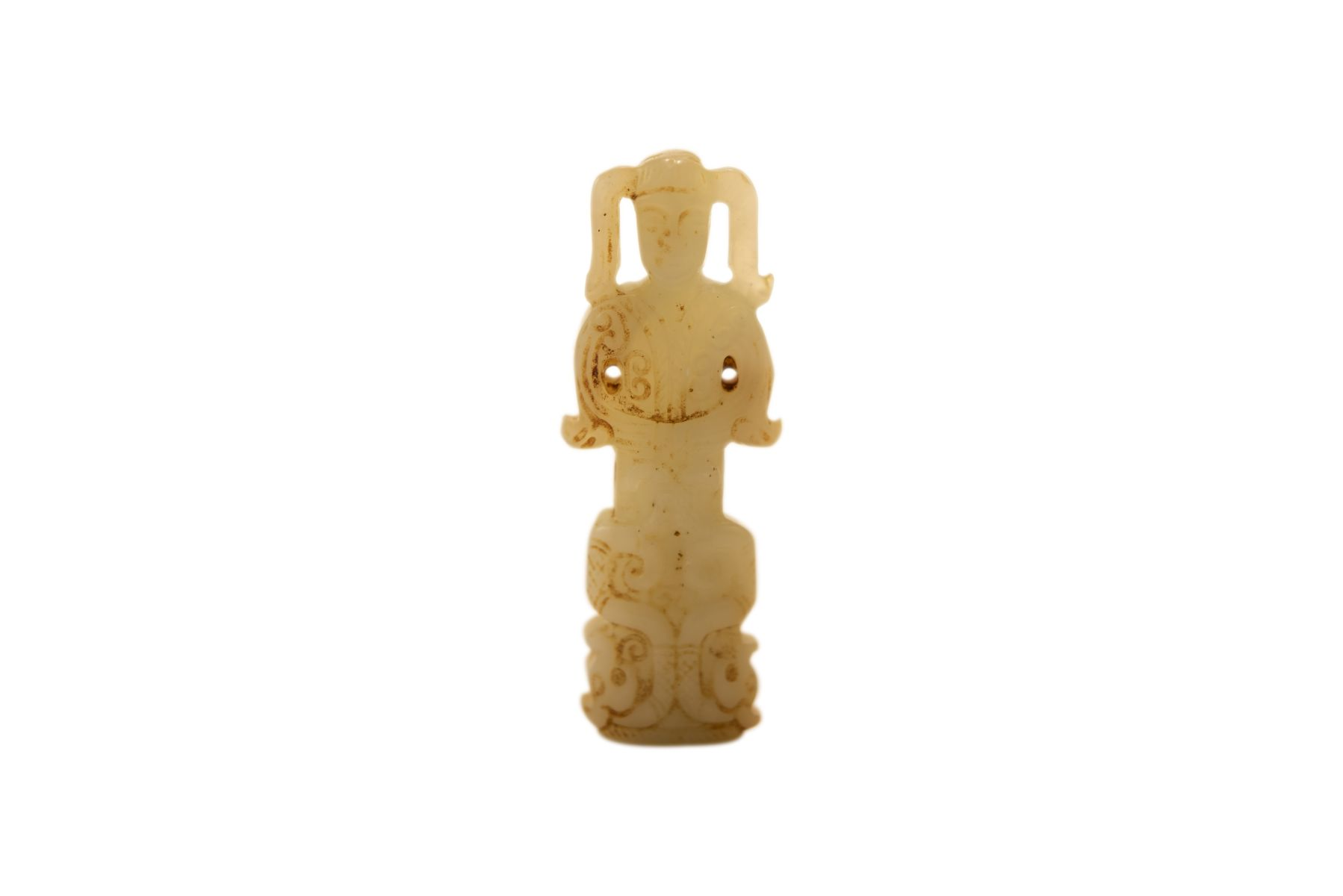 #70 Asian GoddessMade of Jade   Asiatische Göttin aus Jade Image