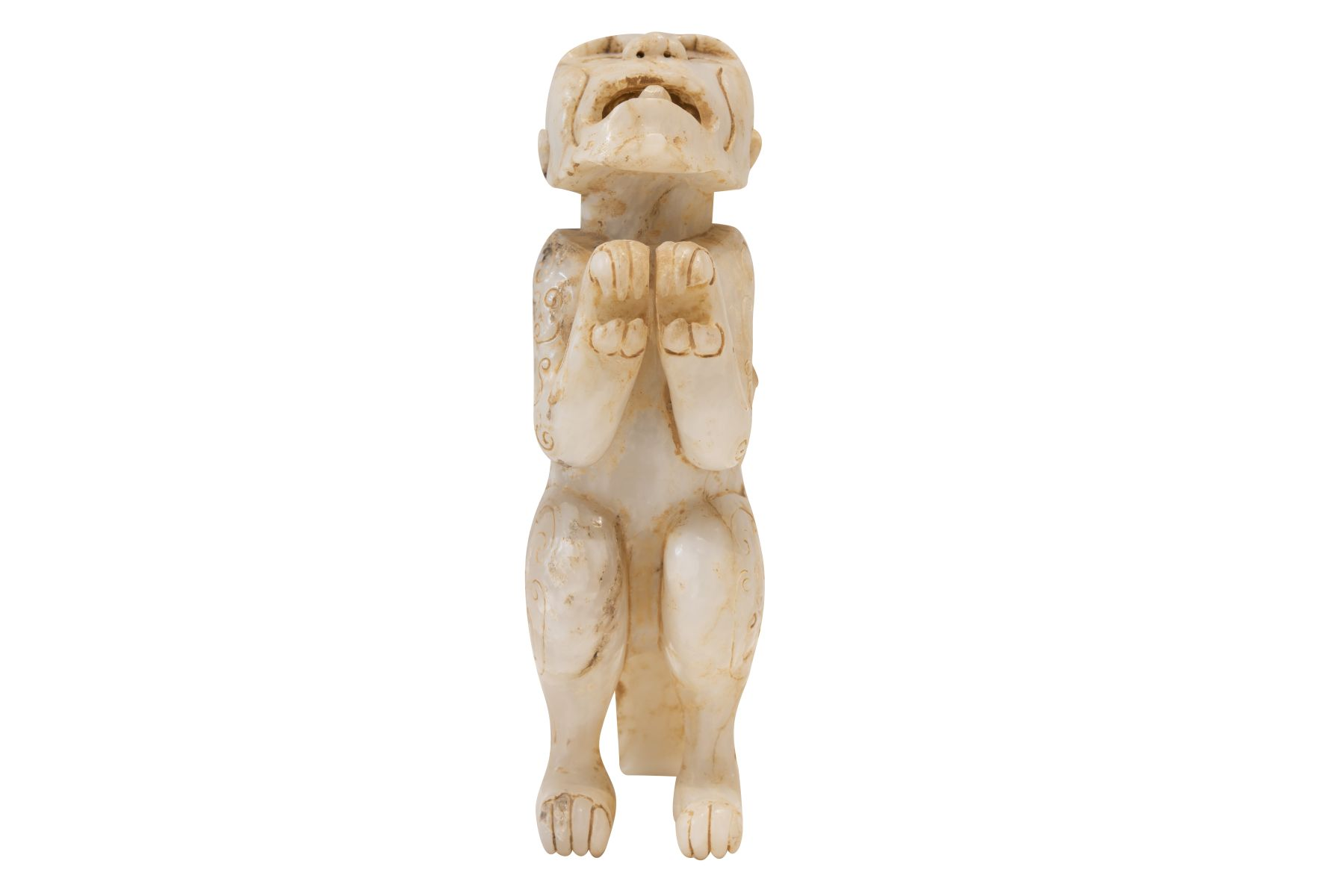 #72 Mythical Creature Made of Jade, 20th C. | Fabelwesen aus Jade, 20 Jh. Image