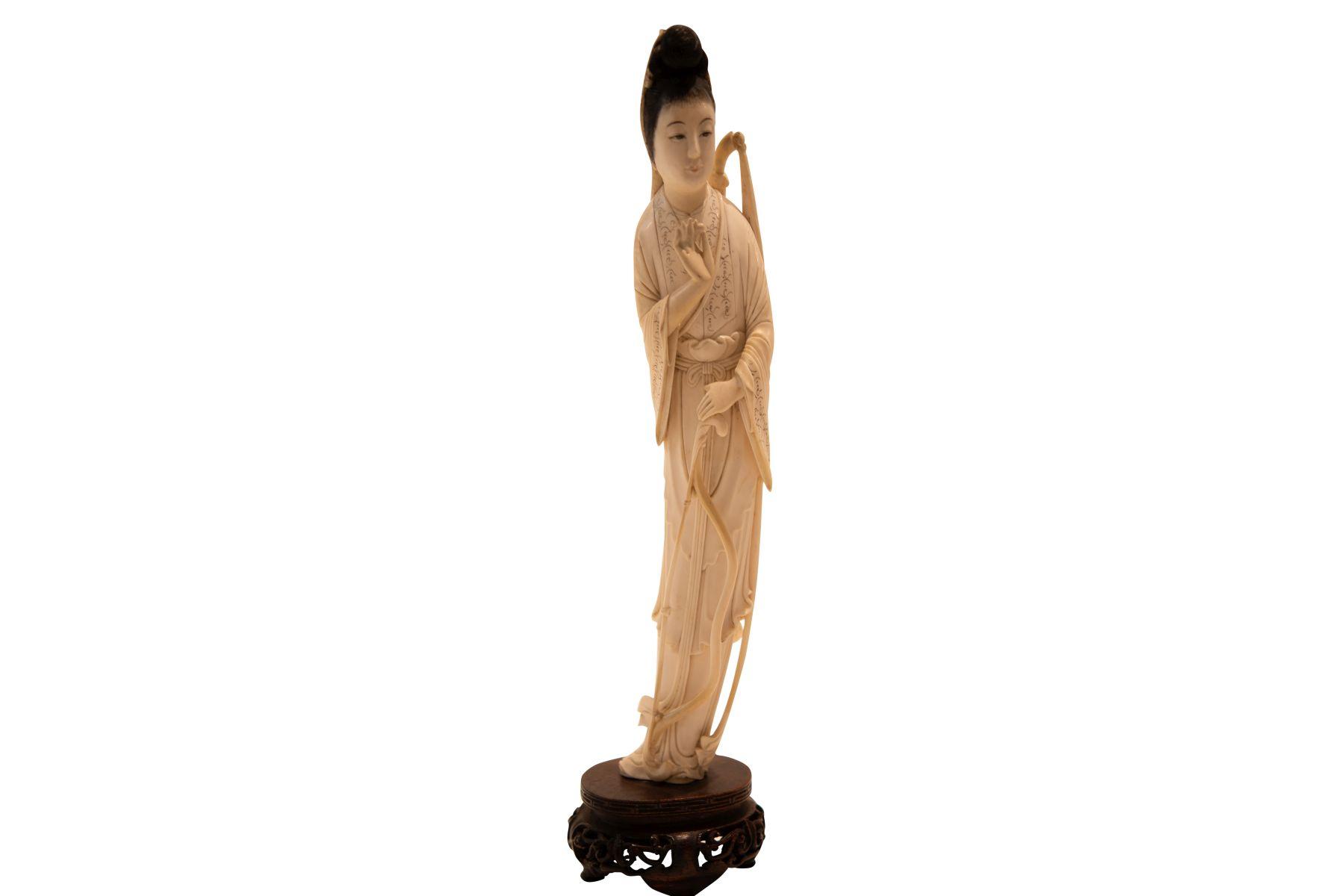 #86 Japanese Geisha Made of Ivory | Japanische Geisha aus Elfenbein Image