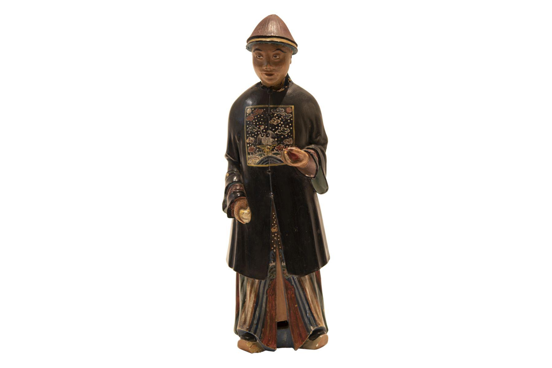 #87 Asian Terracotta Figure | Asiatische Terrakottafigur Image