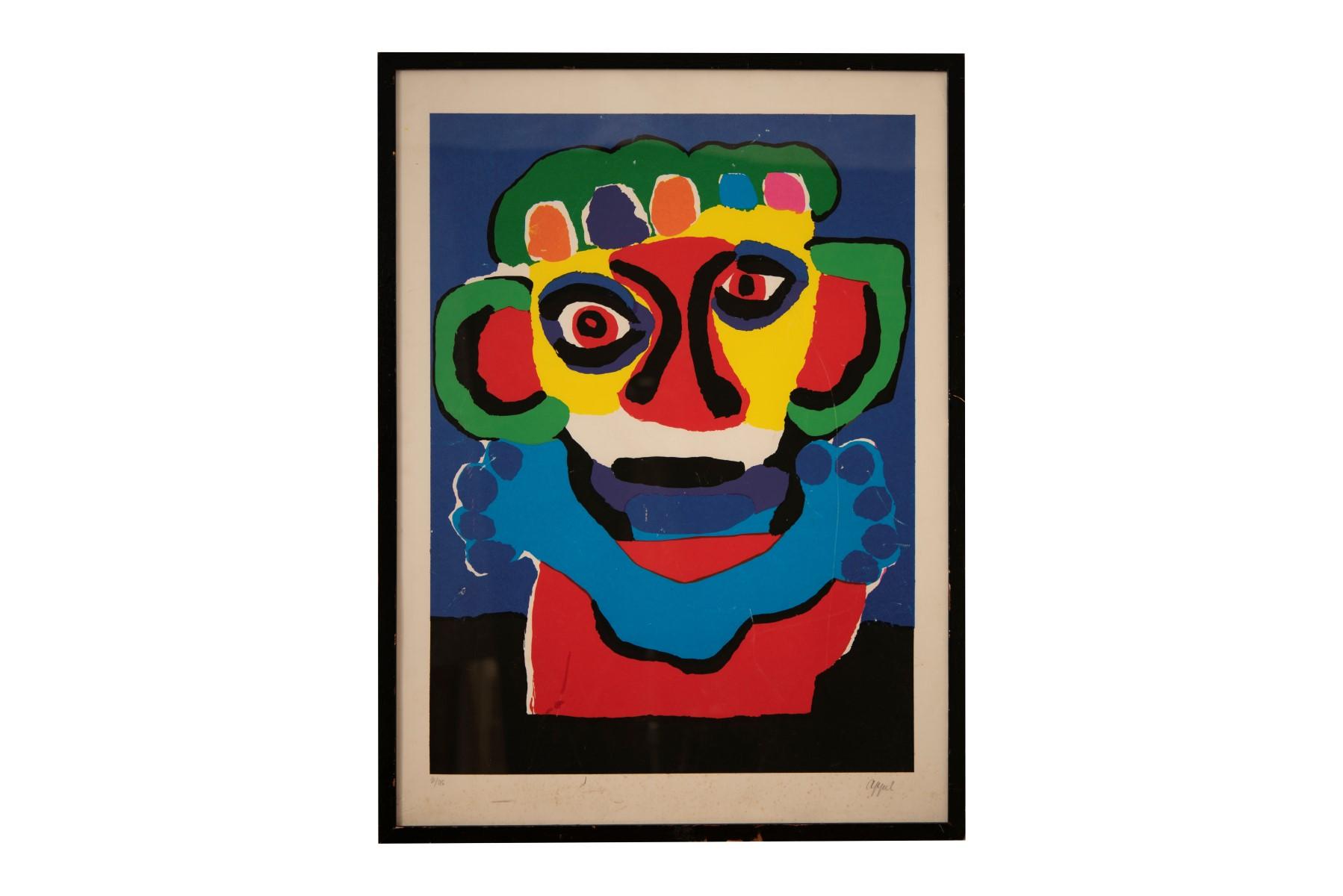#104 Karel Appel* (1921-2006), Untitled   Karel Appel* (1921-2006), Ohne Titel Image