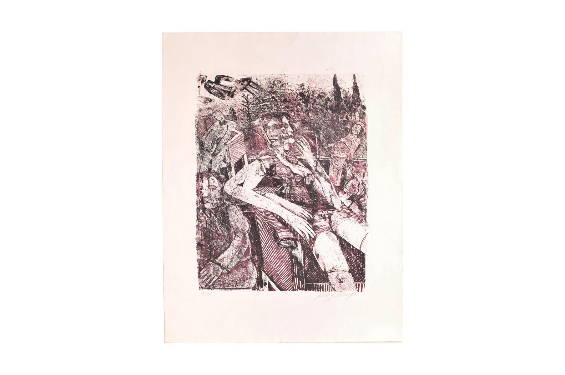 #11 Heinz Stangl* (1942-2008), Abstract Composition   Heinz Stangl* (1942-2008), Abstrakte Komposition Image