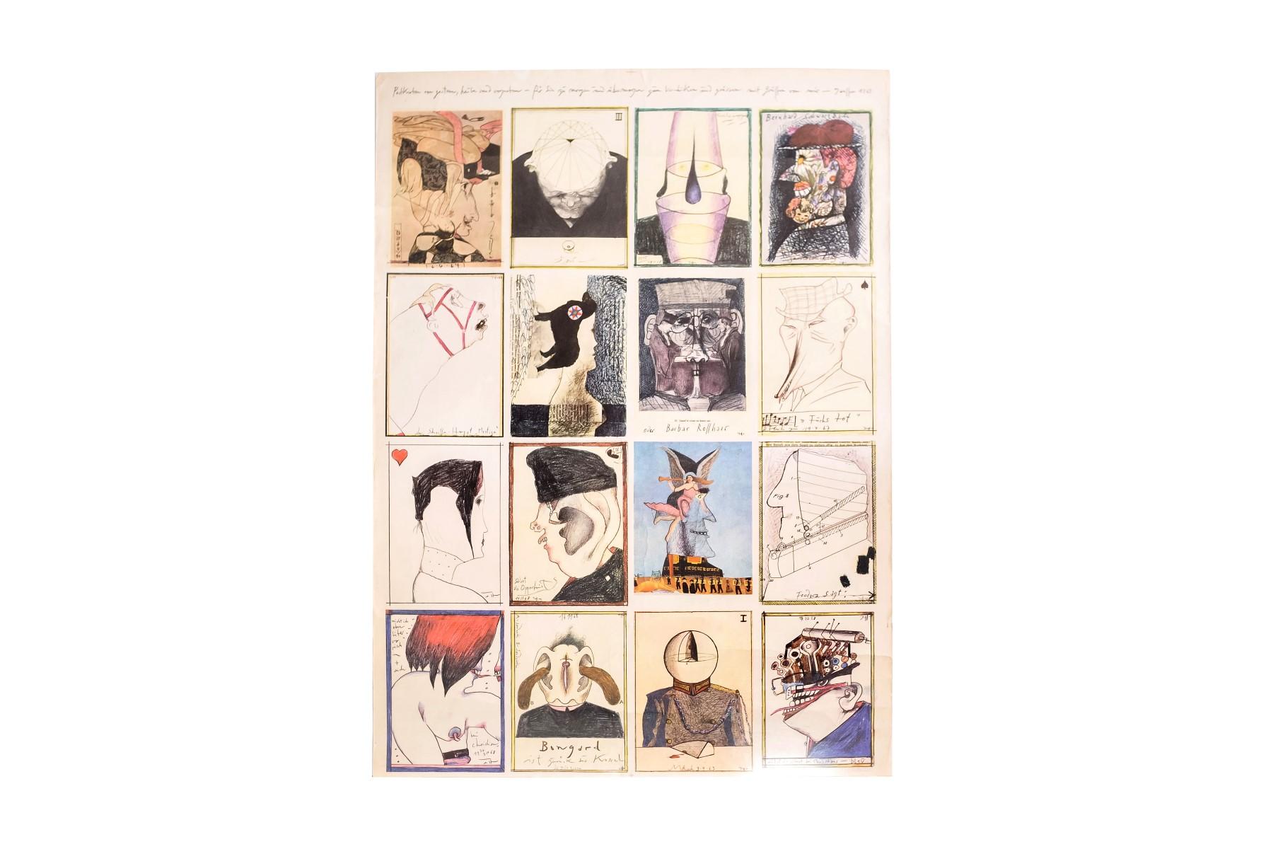 #12 Artists of the 20th Century, Postcards | Künstler des 20. Jahrhundert, Postkarten Image