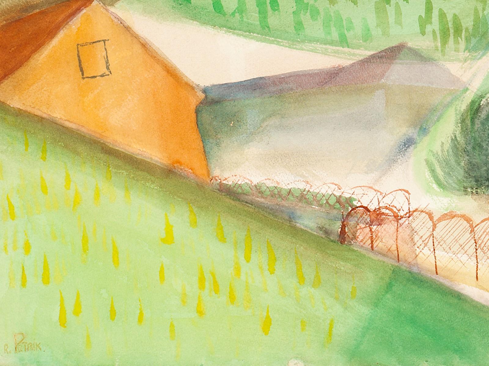 #124 Rudolf Petrik* (1922-1991), In the Valley, Austria,1950 | Rudolf Petrik* (1922-1991), Im Tal, Österreich, ca.1950 Image