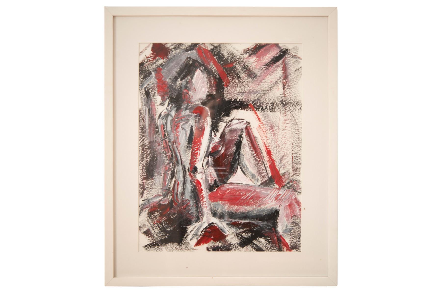 #129 Pauline Buchinger, Nude 2002 | Pauline Buchinger, Aktbild 2002 Image