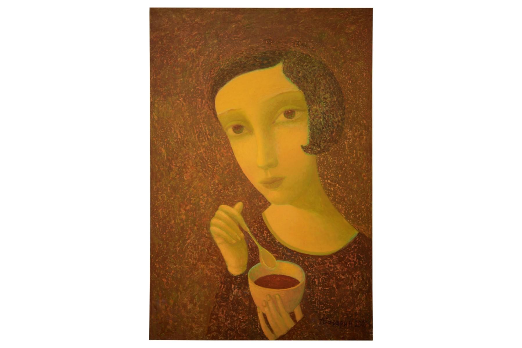 #142 Alexander Bazarin (1963), Hot Chocolate   Alexander Bazarin (1963), Heisse Schokolade Image