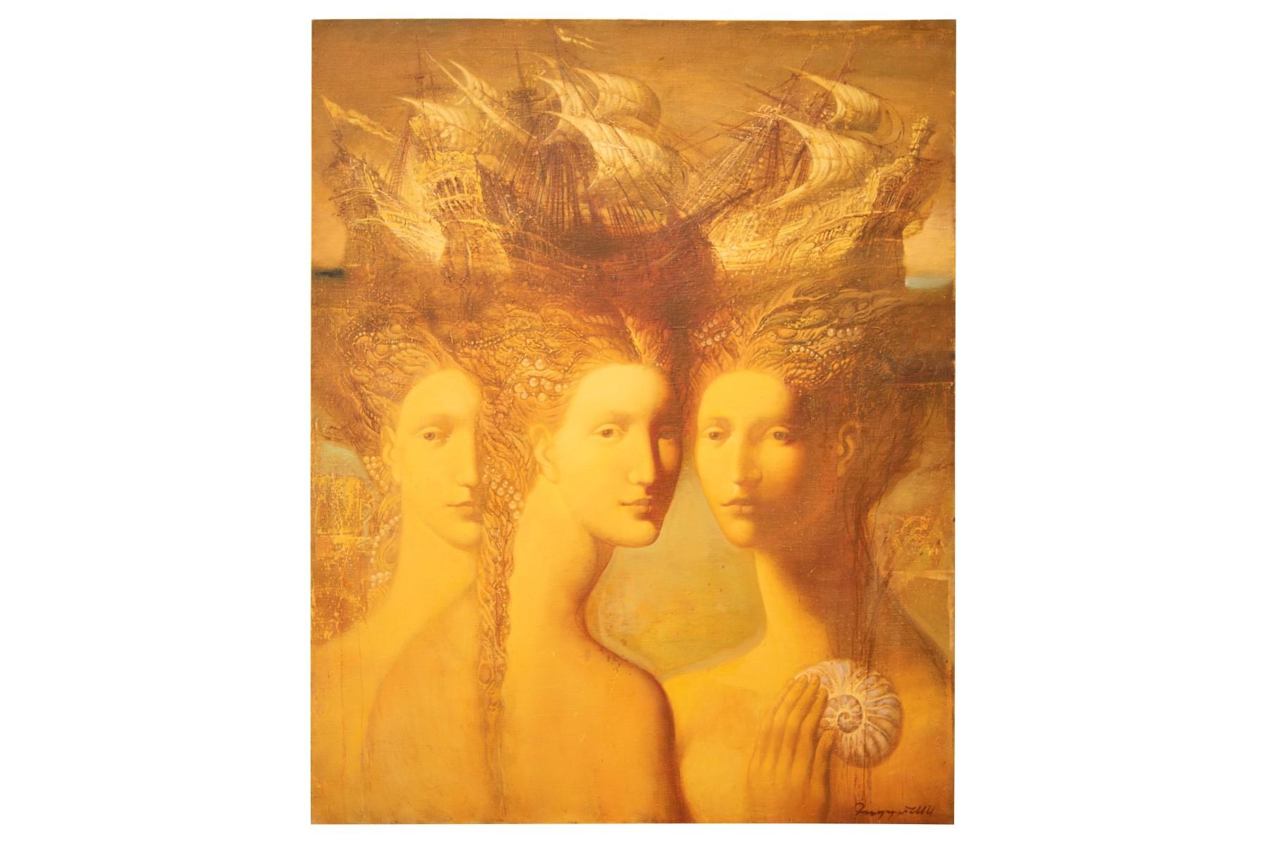 #145 Armen Gasparyan (1966), Dreaming of Journey   Armen Gasparyan (1966), Dreaming of Journey Image