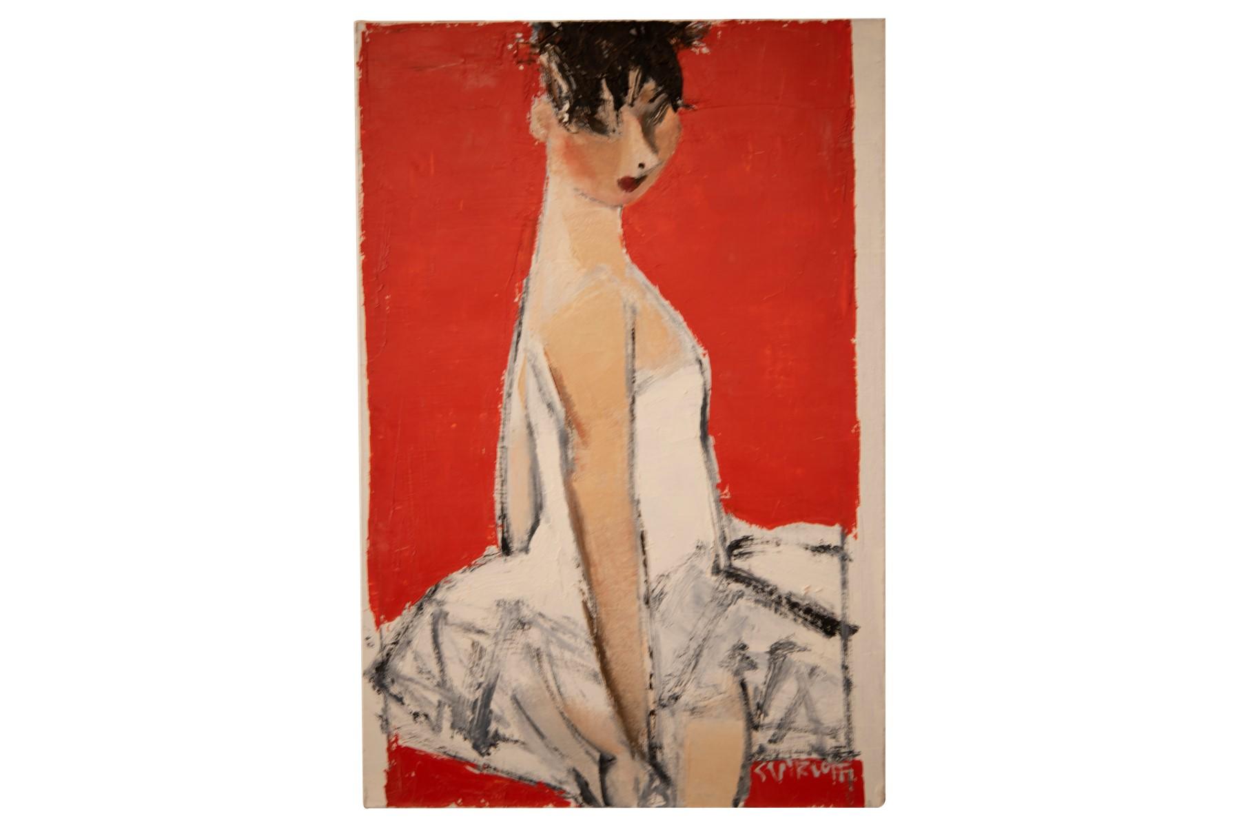 #174 Andrai Smirnoff (1960), Ballerina   Andrai Smirnoff (1960), Ballerina Image