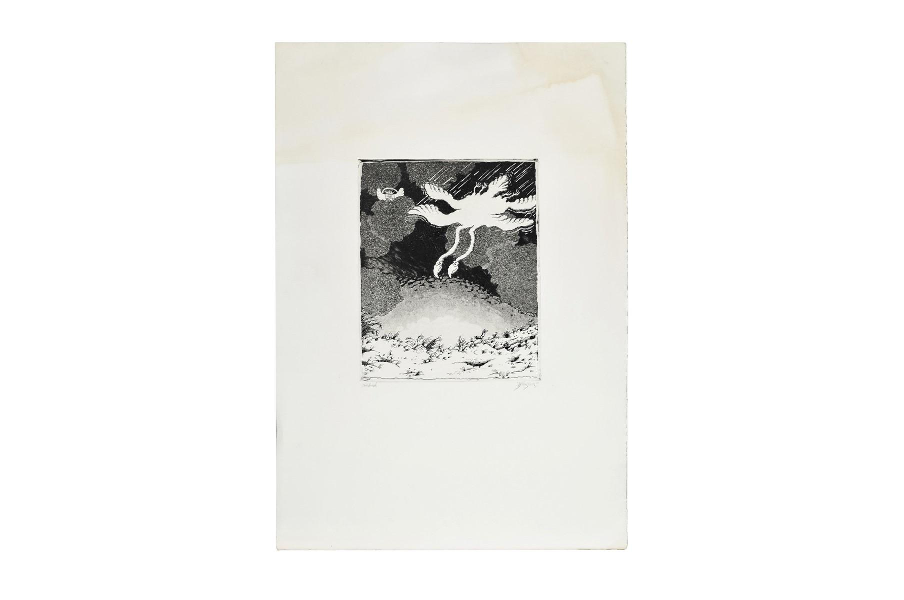 #19 Walter Schmöger (1943), Sample Print | Walter Schmögner* (1943), Probedruck Image