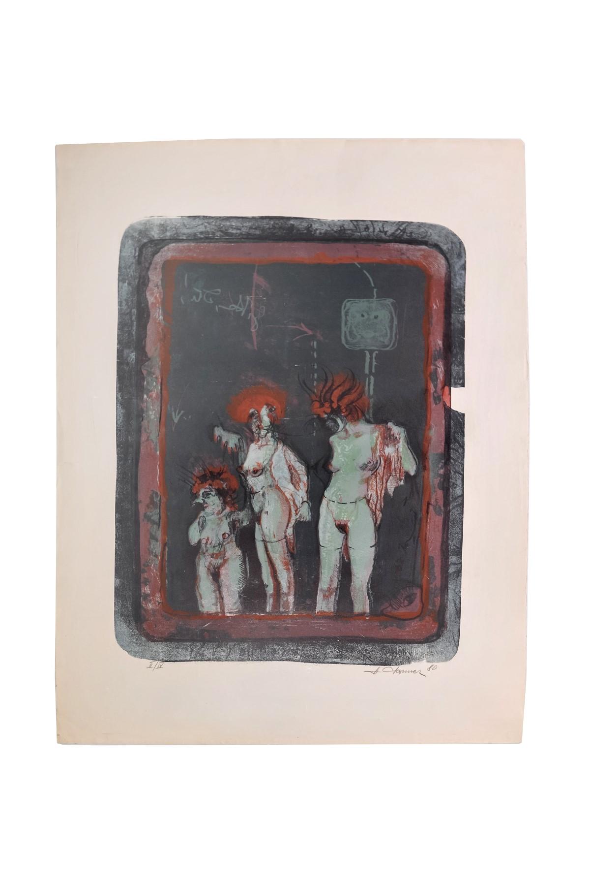 #21 Artist of the 20th century, Figurative Composition. | Künstler des 20. Jahrhundert, Figurative Komposition Image