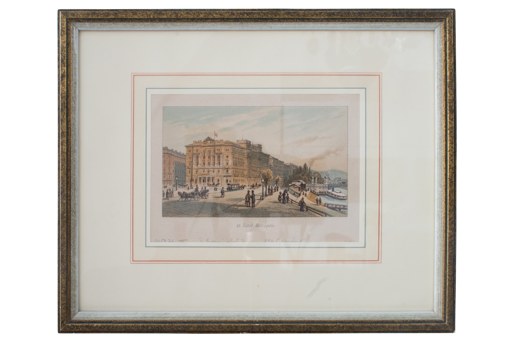 #36 Johann Varrone (1832-1910) und Eugen Ladislaus Petrovits (1839-1907), Hotel Metropole | Johann Varrone (1832-1910) und Eugen Ladislaus Petrovits (1839-1907), Hotel Metropole Image