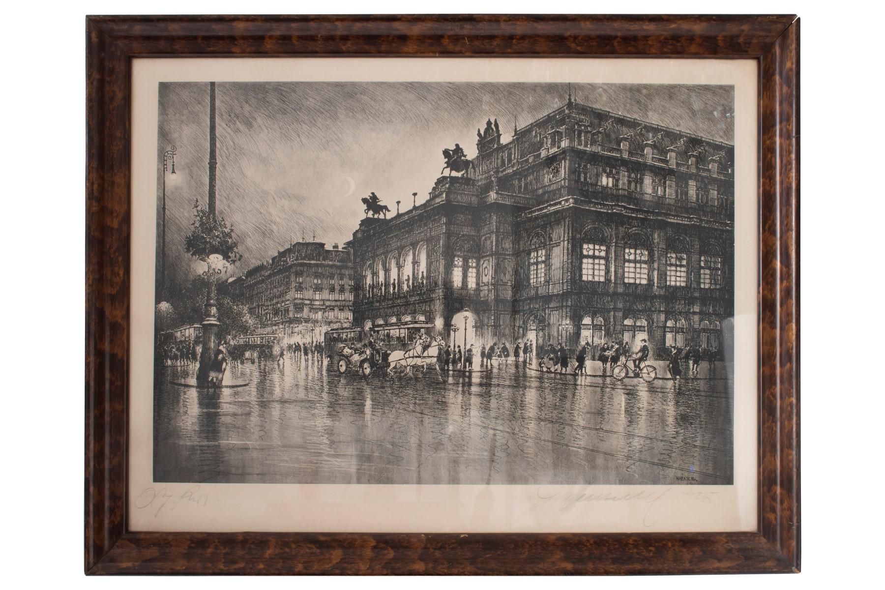 #44 Hugo Henschl (1879-1929, Vienna State Opera | Hugo Henschel (1879-1929), Staatsoper Wien Image