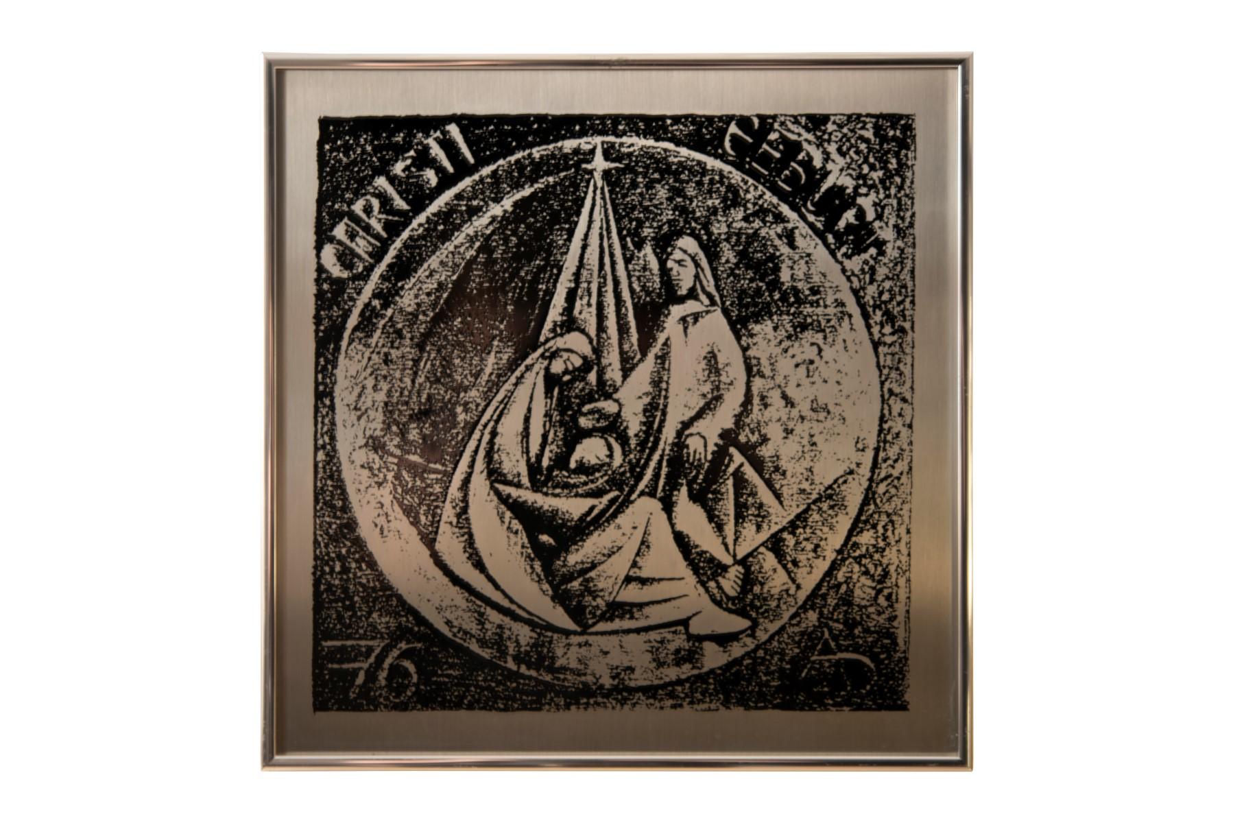 #6 Alexander Diepold* (1929-2012), The Birth of Christ   Alexander Diepold* (1929-2012), Die Geburt Christi Image
