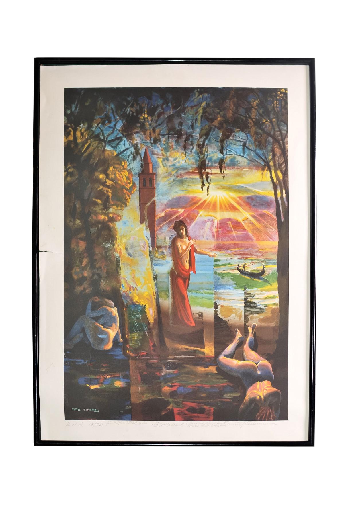 #69 Daniel Friedemann Fuchs* (1950), Gondola 1986   Daniel Friedemann Fuchs* (1950), Gondola 1986 Image