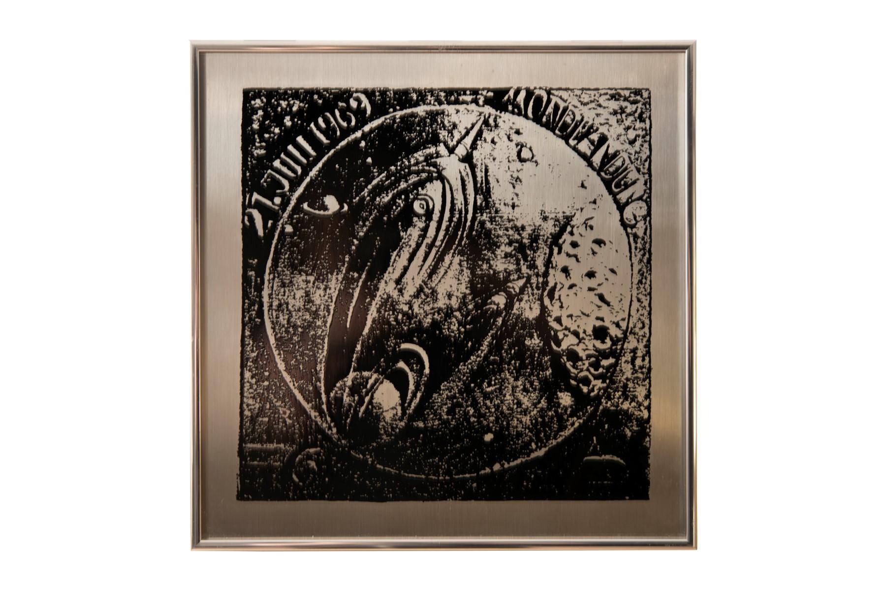 #7 Alexander Diepold* (1929-2012) , July 20, 1969 the first Moon Landing   Alexander Diepold* (1929-2012), 20. Juli 1969 die erste Mondlandung Image