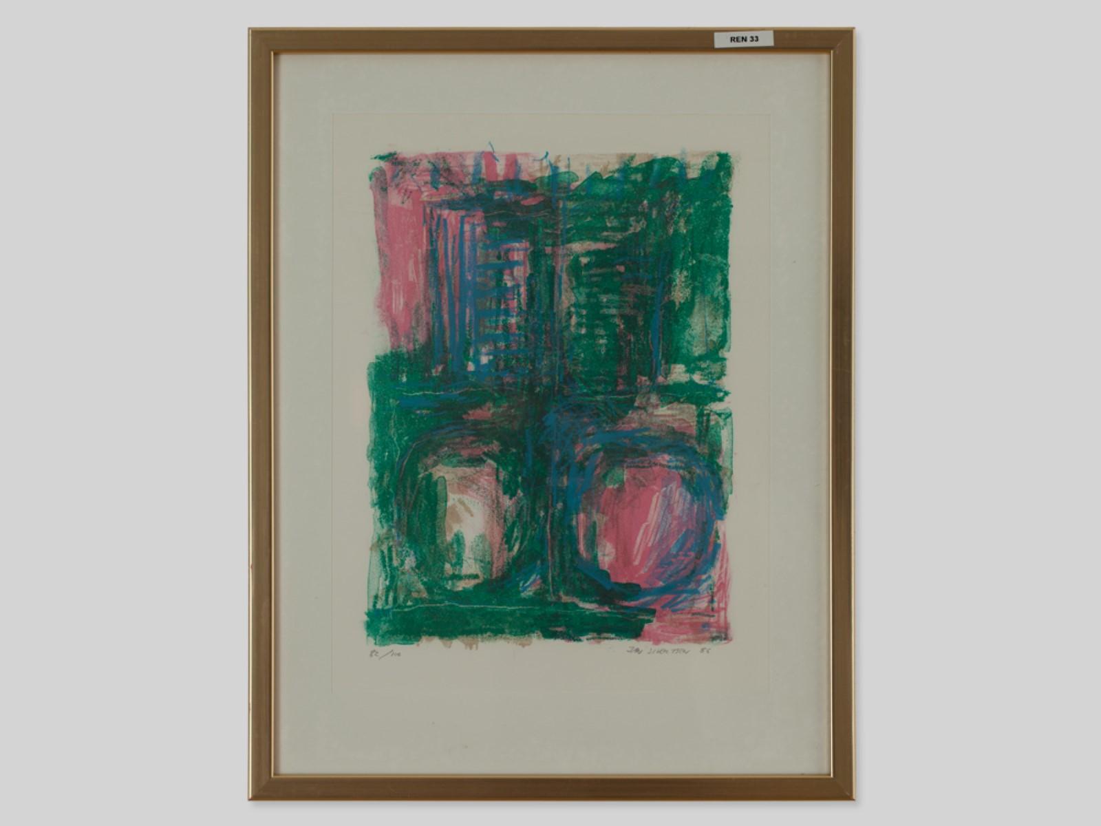 #70 Jan Sivertsen* (1951), Composition 1986   Jan Sivertsen* (1951), Komposition 1986 Image