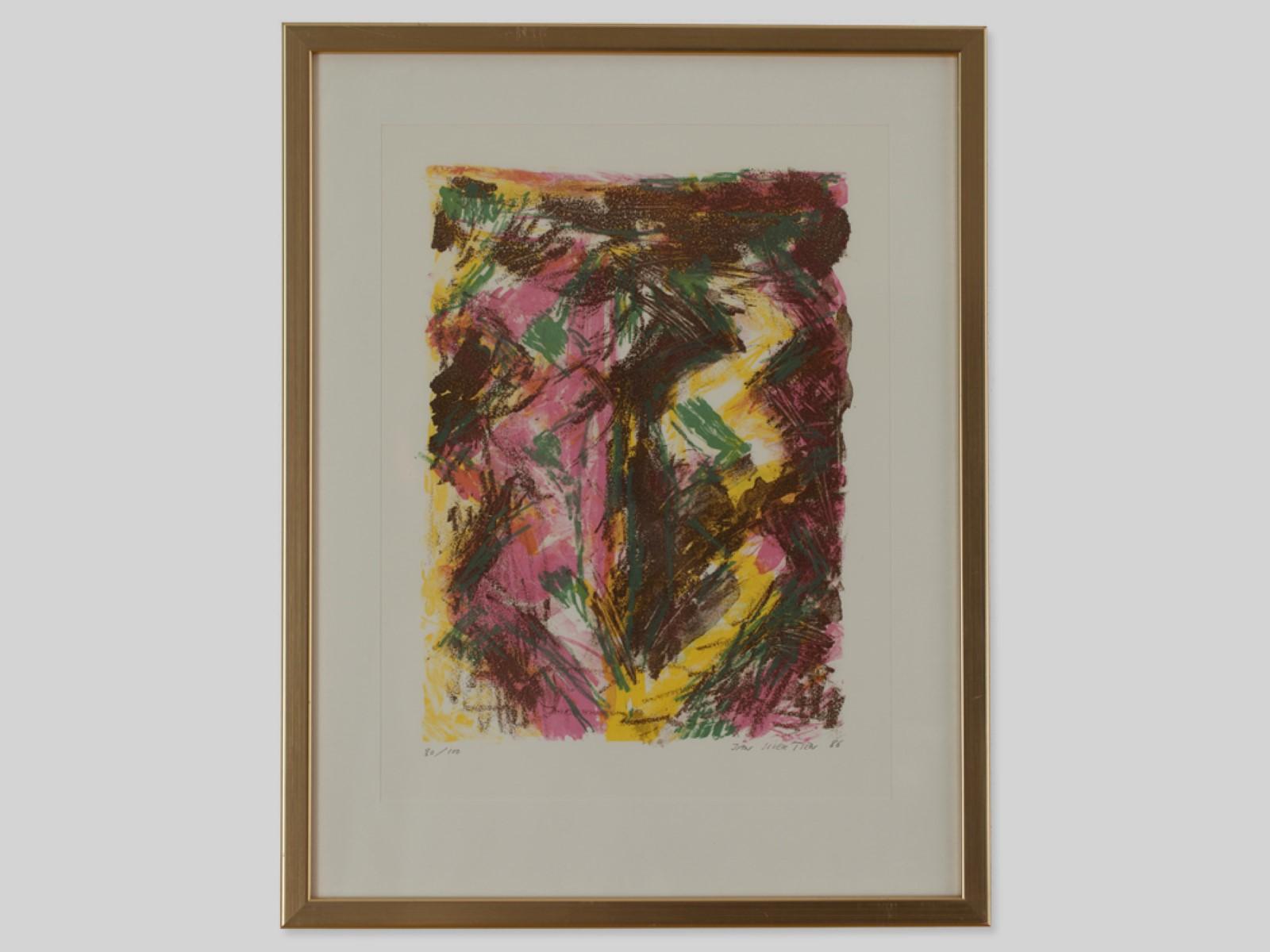 #71 Jan Sivertsen* (1951), Abstract Composition 1986   Jan Sivertsen* (1951), Abstrakte Komposition 1986 Image