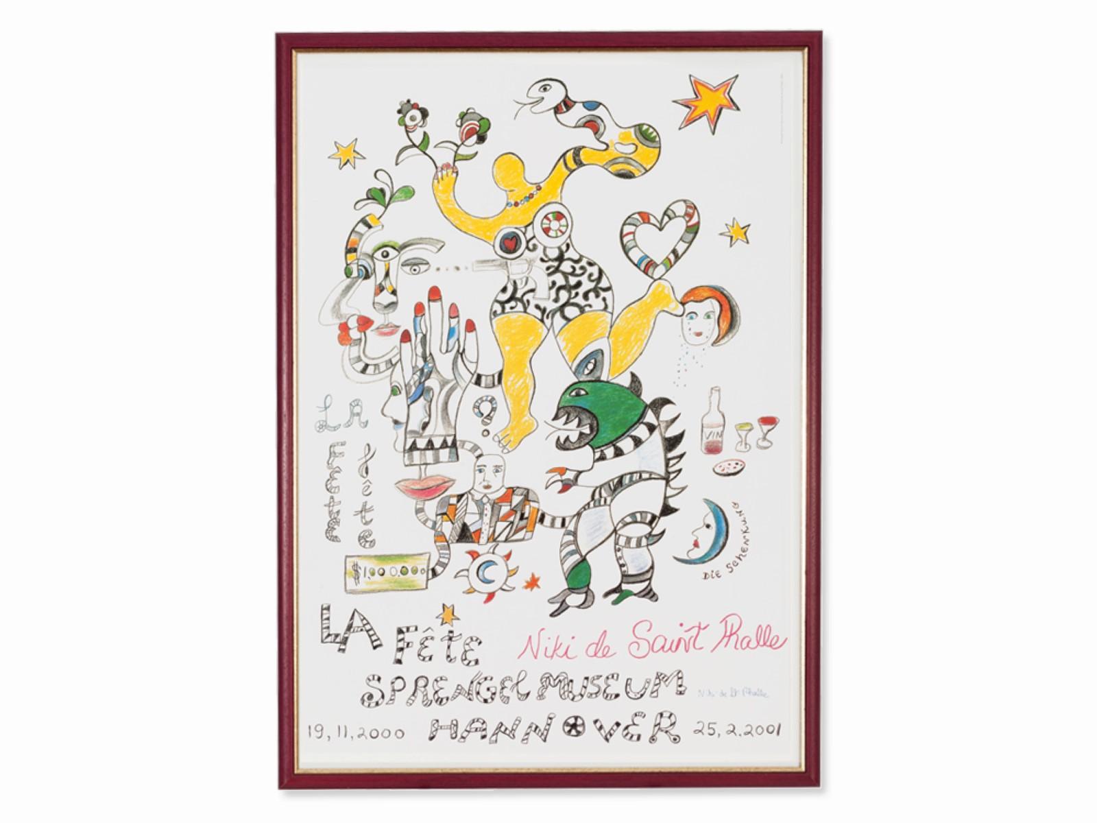 #75 Niki de Saint Phalle* (1930-2002), La Fête, the Donation | Niki de Saint Phalle* (1930–2002), La Fête, die Schenkung Image