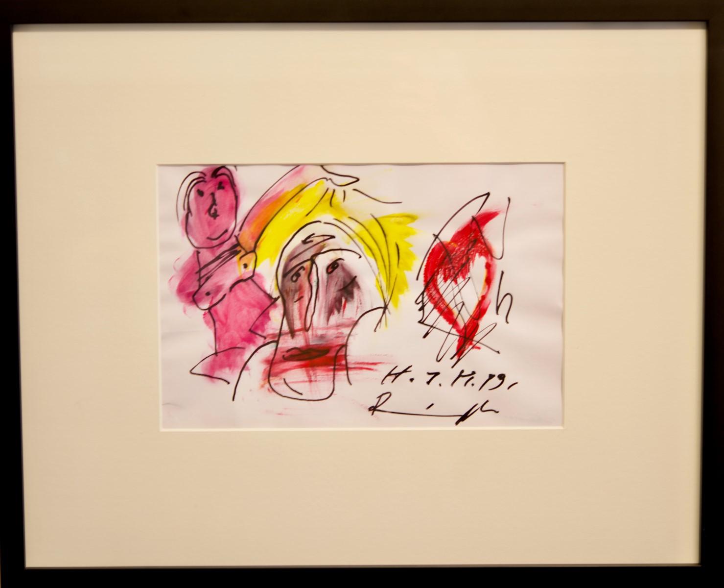 #8 Franz Ringel* (1940-2011), Female attraction | Franz Ringel* (1940-2011), Frauenreiz Image