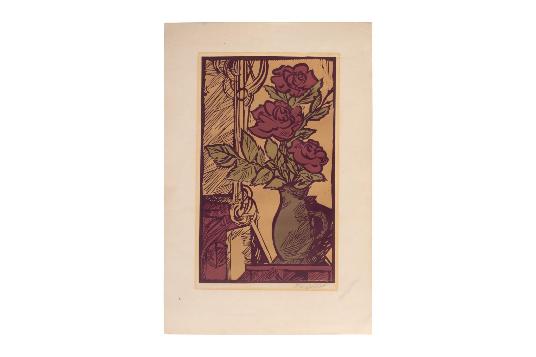 #81 Franz von Zülow* (1883-1963) Flower Still Life | Franz von Zülow* (1883-1963) Blumenstillleben Image