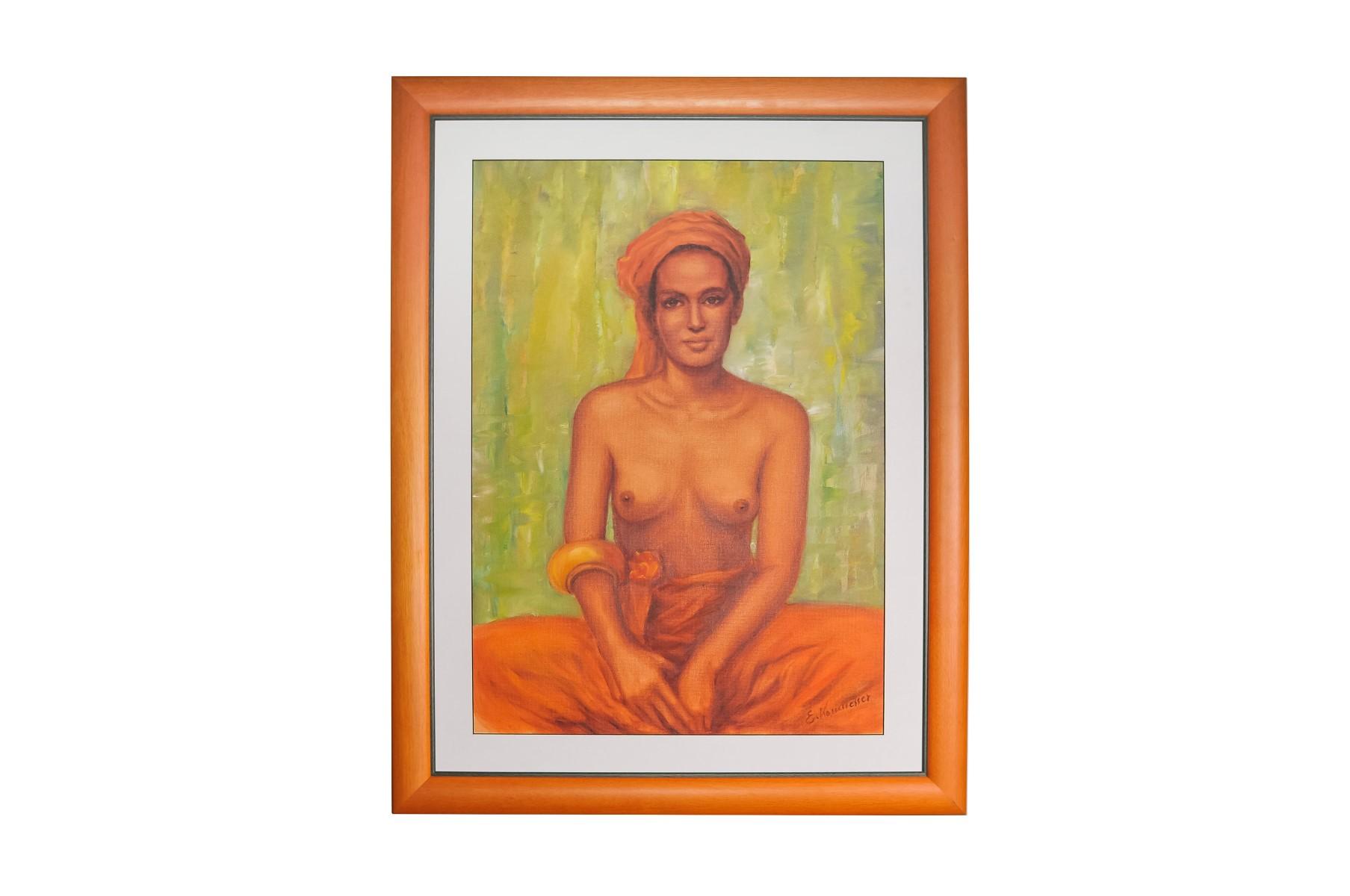 #92 Erika Kornmesser (1934), Bedouin Woman with Naked Bust | Erika Kornmesser (1934), Beduinenfrau mit nacktem Oberkörper Image