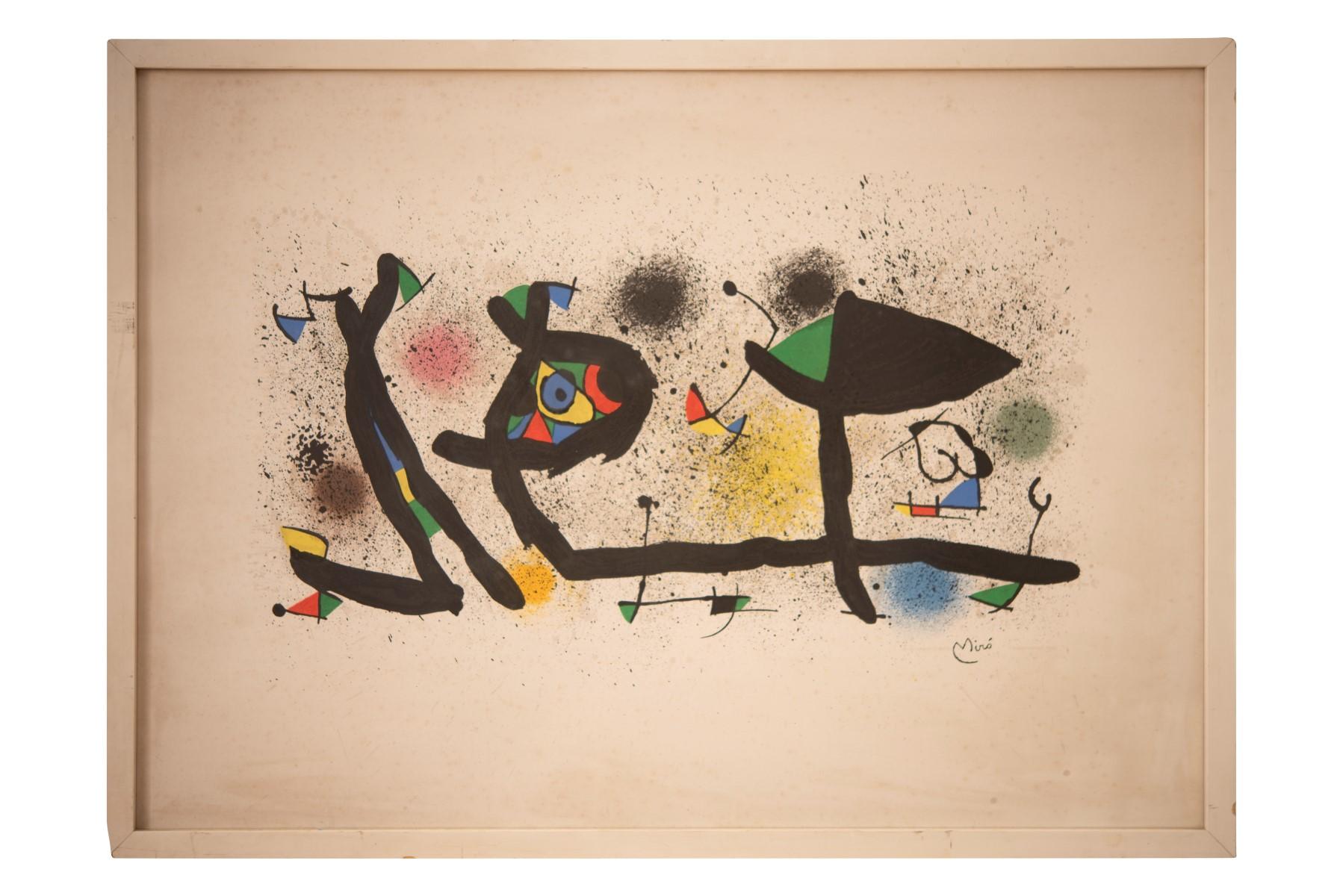 #97 Joan Miró (1893-1983), Skulpturen, 1974 | Joan Miró* (1893-1983), Sculptures, 1974 Image