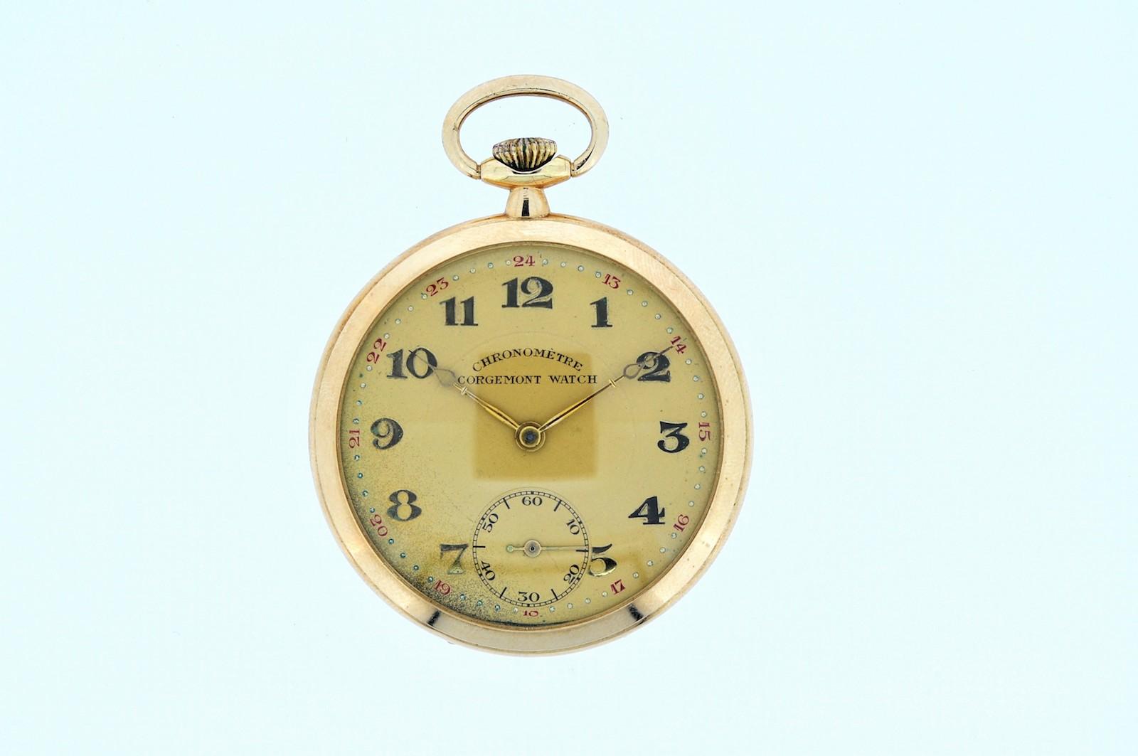 #28 Golden Tail-Coat Watch | Goldene Frackuhr Image