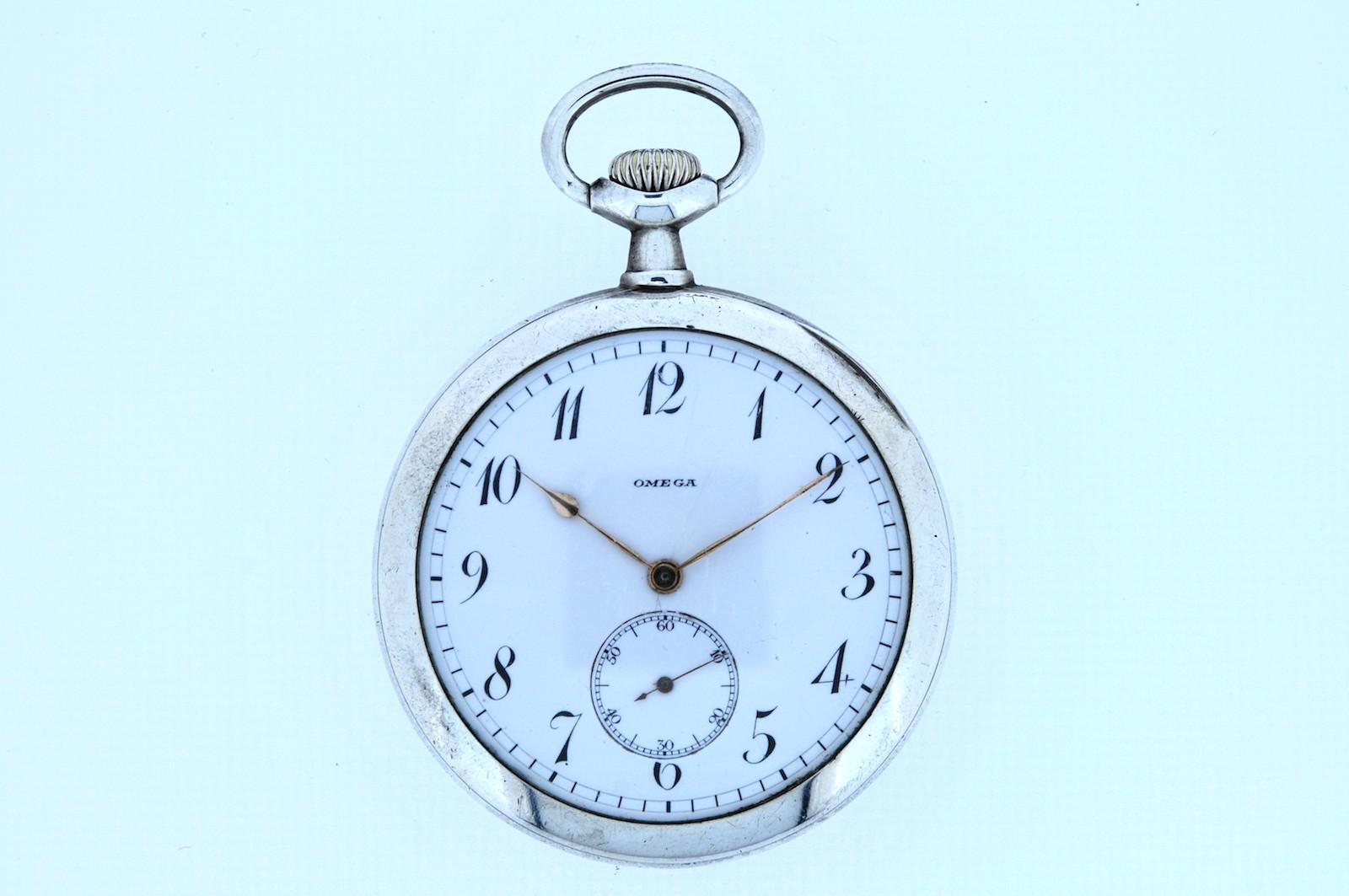 #32 Silver Pocket Watch | Silberne Taschenuhr Image